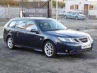 Saab 9-3 1.8t SportWagon Auto 2008 Sport 60 000 Miles 6 Months AA Warranty