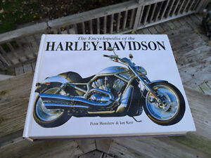 Harley - Davidson Encyclopedia by Peter Kenshaw & Ian Kerr Belleville Belleville Area image 1