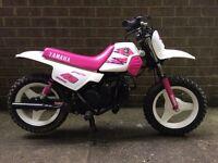 Pw50 original girls pink Yamaha Pw 50 excellent condition kids mx bike field