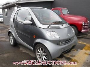 2006 SMART FORTWO PASSION CDI 2D COUPE PASSION CDI