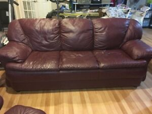 Sofa, Love Seat, Recliner and Ottoman