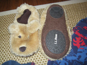 LLbean clothing incl camp hoodie &  Doggie slippers (size 9-10) St. John's Newfoundland image 2
