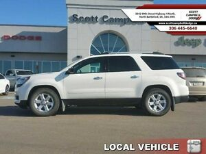 2014 GMC Acadia SLE2   - local - trade-in - sk tax paid - Heated