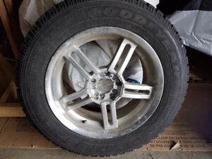 Almost Mint - Goodyear Nordic P215/65 R17 + Alloy Rims