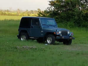 FOR SALE 1998 JEEP YJ SPORT