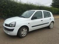 CHEAP RENAULT CLIO 1.2 MANUAL 5DR - GOOD SERVICE HISTORY INC CAMBELT