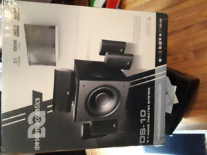 5.1 surround system.  Used once.  Like