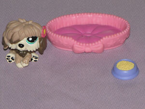 FOR SALE LITTLEST PET SHOP 4 SETS PEACOCK IN THE SNOW, SHEEPDOG,