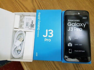 Brand new Unlocked Samsung Galaxy J3 Pro (2017) Dual SIM Black