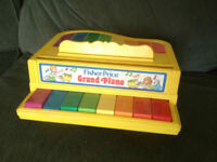fisher price piano ( old )