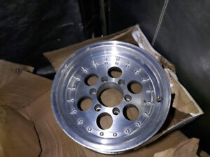 Set of 4 15x8 6 Bolt Aluminum Rims $250.00