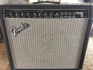 Fender Princeton 112 - USA  – Amplificateur de guitare
