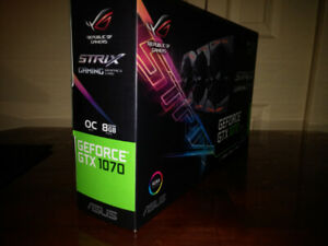 Asus Strix GTX 1070 OC-Edition