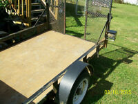 "Utility Trailer.  Great for ATV...  ""Like New""."