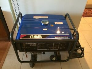 LIKE NEW - Yamaha Generator EF6600DEX