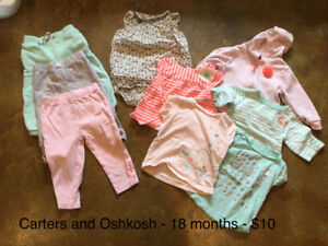 Wheat, old navy, Carters, gap, and more! 18-24 months