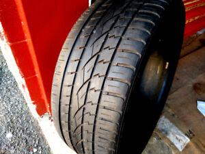 1 pneu d'été CONTINENTAL  265/40R21