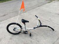 Kids tandem Tag-a-long bike