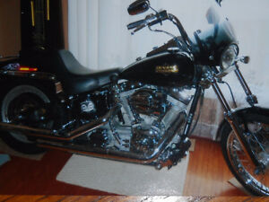 harley softail custom 2005- 1450cc  full chrome monté 82 force p