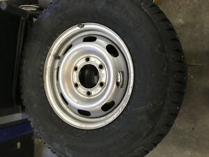 Pneu et rim chevrolet colorado