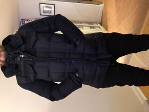 Moncler Jacob Giubbotto Navy Jacket