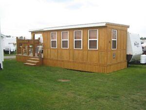 38ft. Hornet Retreat park model trailer
