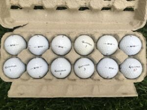 TAYLORMADE TP5 GOLF BALLS - USED