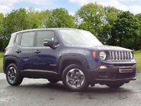 Jeep RENEGADE 1.6 MultiJet II Sport 5dr (blue) 2016