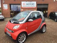 2006(56) Smart Smart 0.7 Fortwo Passion, Red 3dr Hatch, **DEPOSIT NOW TAKEN**
