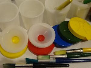 Children's artist kit and apron Gatineau Ottawa / Gatineau Area image 3