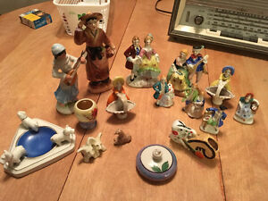 Lot of porcelain figurines. Some made in occupied Japan Cornwall Ontario image 1