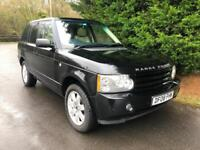 2008 LAND ROVER RANGE ROVER 3.6 TDV8 VOGUE AUTOMATIC 4X4 TURBO DIESEL