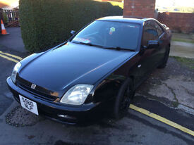 Honda Prelude 2.0i auto FULL MOT DRIVES FANTASTIC, TEAM DYNAMICS ALLOYS