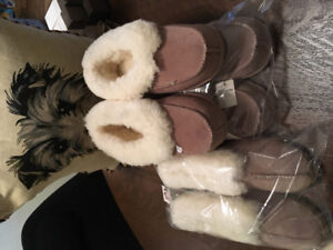 Sheepskin/ fur slippers