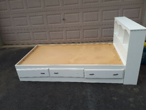 2 princess Twin girl beds for sale.  Located in BRANTFORD
