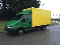 2006-56-reg Iveco daily 35-S12 2.3TD EURO4 13ft jumbo box body low miles FREE UK DELIVERY