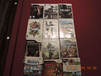 WII & Playstation 2 games for sale