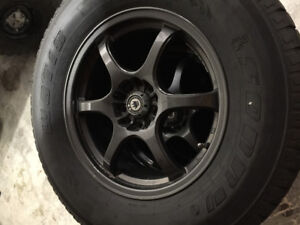 "17"" konig wheels with tires"