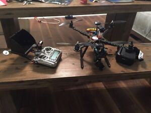 Complete 3DR Pixhawk drone with parachute and fpv or part out Kawartha Lakes Peterborough Area image 1