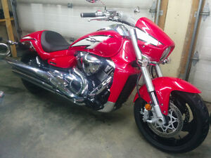 New 2013  M109R Boulevard with 2,000 km's