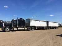 Custom Grain Hauling and Custom Spraying