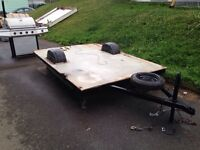 7ft by 9ft utility trailer