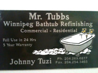 MR.TUBBS/BATHTUB REFINISHING LTD