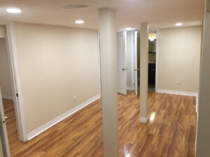 2 bedroom Lower level apartment for rent