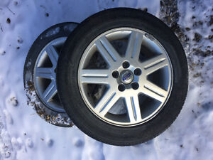 Volvo rims with Goodyear tires