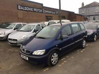 2005 Vauxhall Zafira 1.6 LIFE 16V 5d 99 BHP 7 SEATER, AIR CONDITIONING