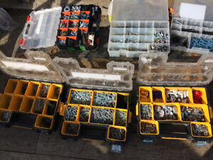 Assorted nuts bolts and screws