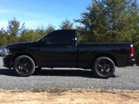 """Dodge Ram 1500 20"""" Factory BLACK Alloy Wheels/Tires, only 3000km"""