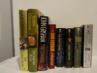 8 books by John Grisham (English)