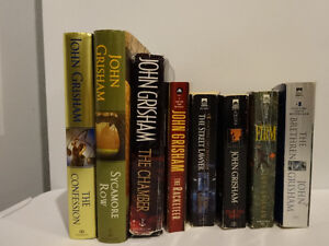 8 books by John Grisham (English) Cornwall Ontario image 1